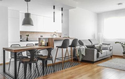 Más vale una imagen...: 21 cocinas modernas abiertas al salón