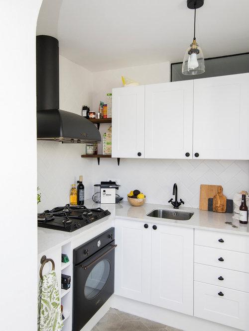 Ideas para cocinas | Fotos de cocinas pequeñas con armarios estilo ...