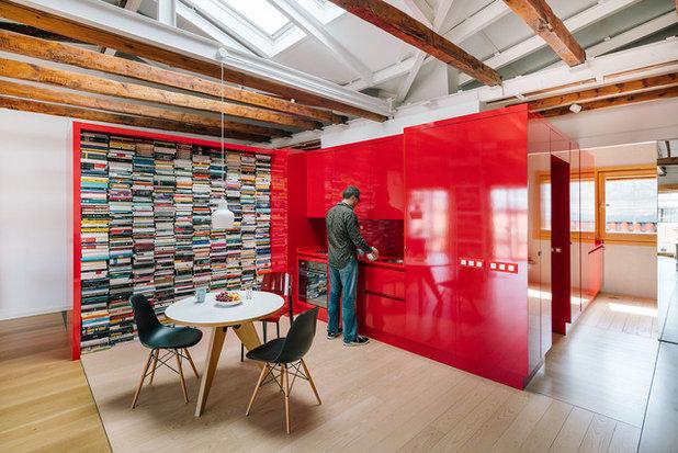 コンテンポラリー キッチン by gon architects