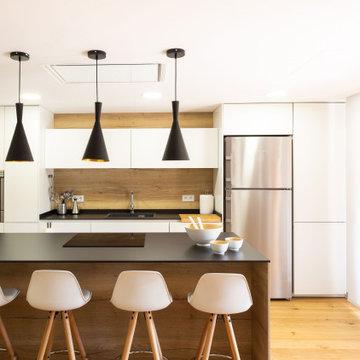 A&E - Cocina y salón