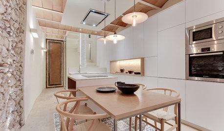 Cómo elegir las lámparas colgantes en una cocina abierta