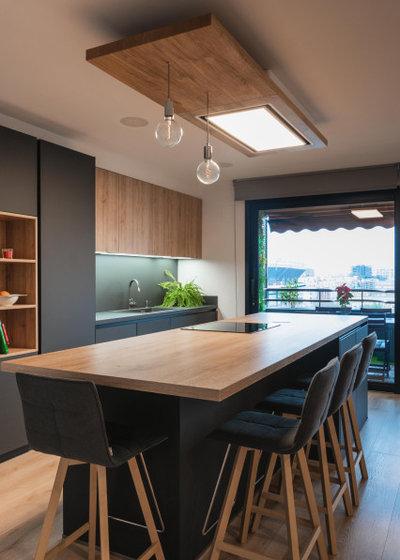 コンテンポラリー キッチン by osb arquitectos