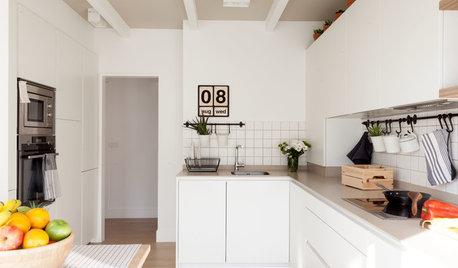 Ideas deco para aportar originalidad a cocinas blancas modernas