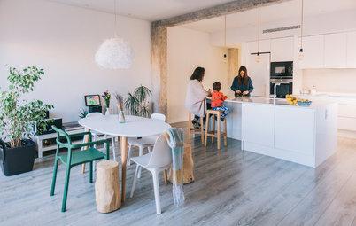 Visita privada: El funcional ático con terraza de dos valencianas