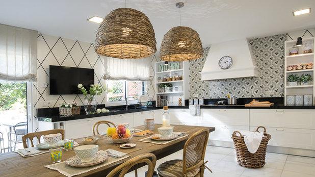 Farmhouse Kitchen by Santayana Home