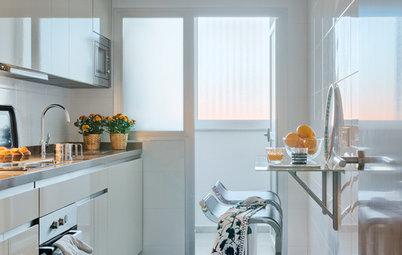 Comer en la cocina: 10 soluciones para crear una cómoda zona de office