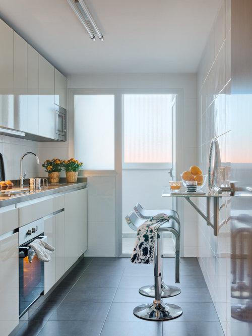 Fotos de cocinas dise os de cocinas peque as - Salpicadero cocina ikea ...