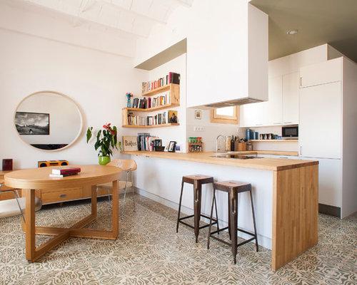 Fotos de cocinas dise os de cocinas peque as - Cocinas pequenas con peninsula ...