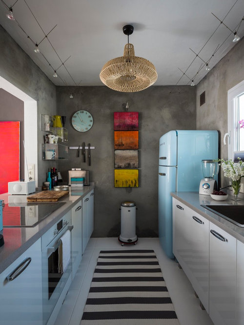 Eclectic Galley Kitchen Design Ideas Remodel Pictures Houzz