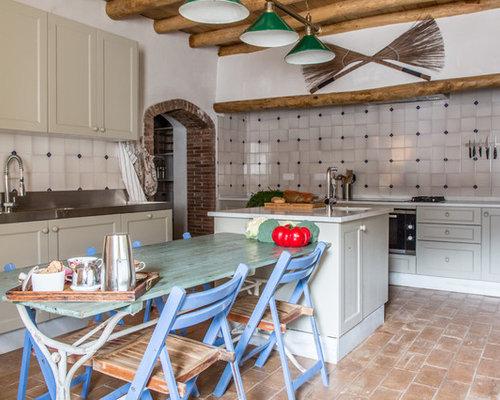 Ideas para cocinas fotos de cocinas con suelo de for Baldosas de cocina