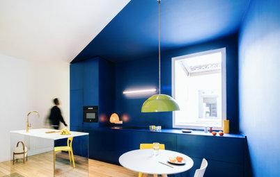 Houzz Испания: Квартира в Мадриде с яркими деталями