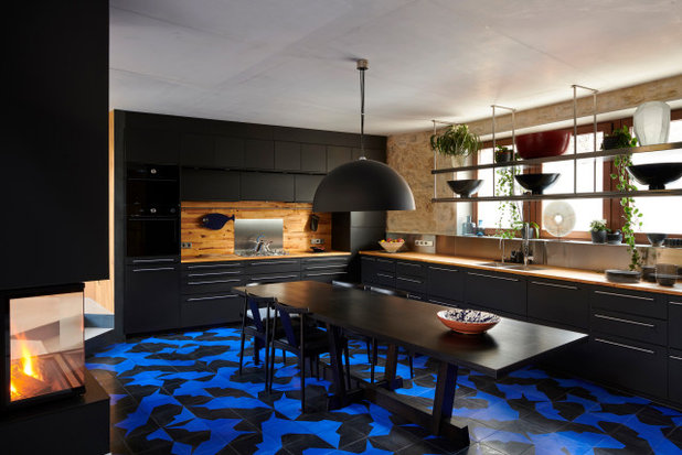 Современный Кухня by patrick genard & asociados