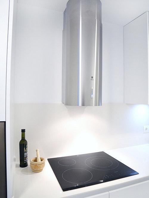 Excelente Moderna Cocinas Blancas Houzz Molde - Ideas de Decoración ...