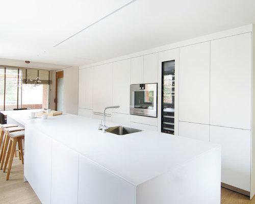 Ideas para cocinas | Fotos de cocinas contemporáneas con suelo de ...