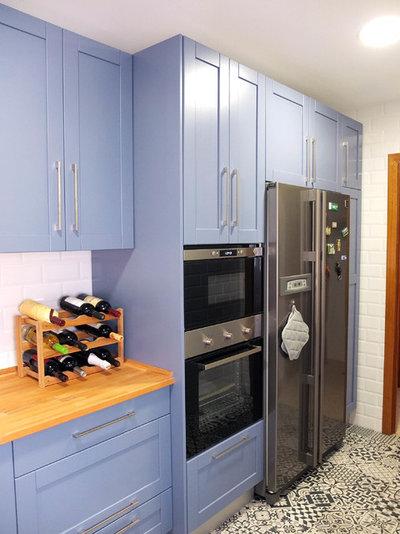 Avant apr s une cuisine r nov e en 15 jours pour 7 000 euros for Cuisine 400 euros