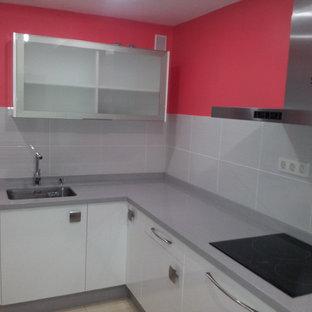 cocina con espacio