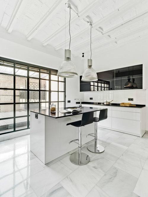 Ideas para cocinas | Fotos de cocinas contemporáneas con encimera de ...