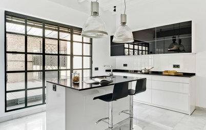 Muebles de cocina: ¿Qué tipos de puertas hay para los armarios?