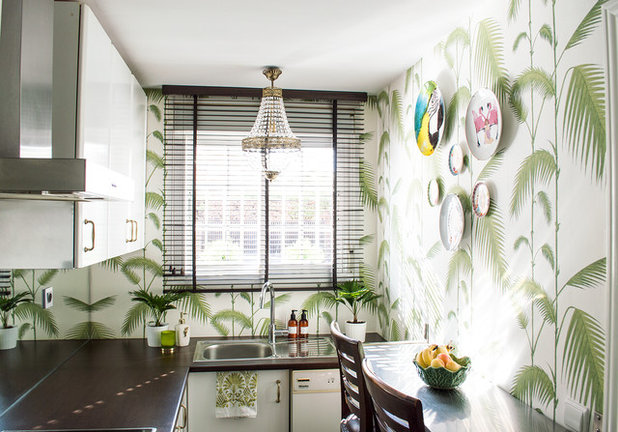 Tropical Kitchen by Edyta Diseño & Decoracion