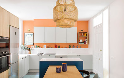 Kitchens Where Warm Fall Colors Work All Year