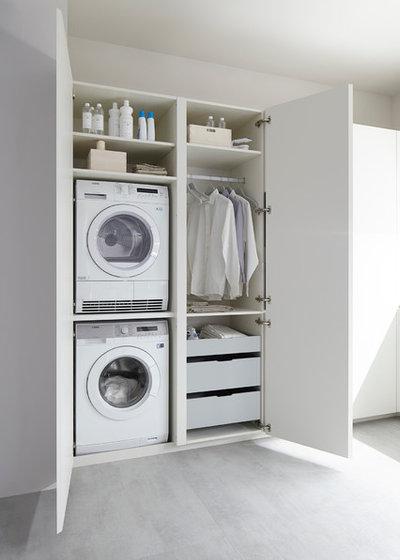 Moderne Buanderie by DELFÍN-2 interiores