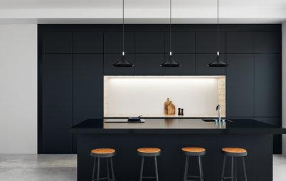 Fotos de la semana: 7 nuevas cocinas negras espectaculares