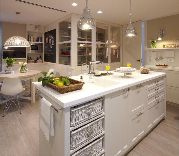 Contemporáneo Cocina by deulonder arquitectura doméstica