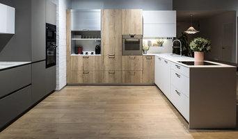 Cocina moderna madera
