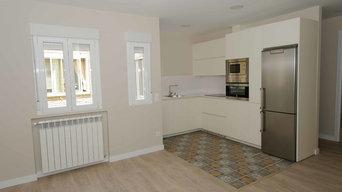 Cocina piso 150 m² en Madrid