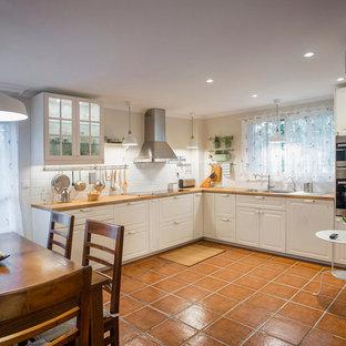 Ideas para cocinas fotos de cocinas comedor de estilo de - Cocinas de campo ...