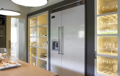 Gu a de materiales y precios para el frente de encimera de - Cocinas con frigorifico americano ...