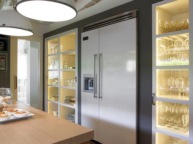 Pregunta al experto congelador vertical o arc n - Cocinas con frigorifico americano ...
