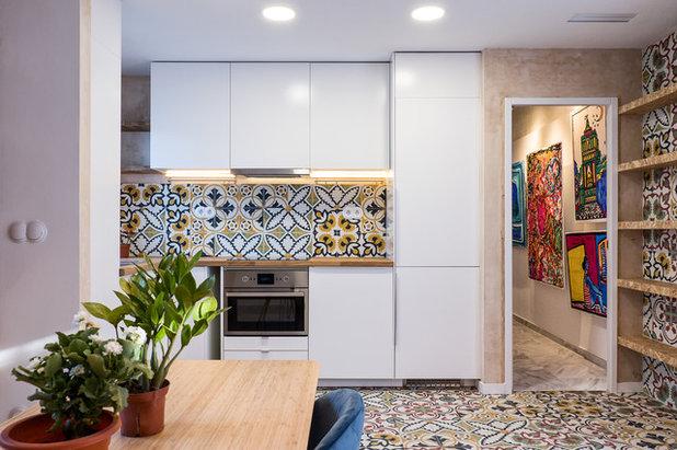 Contemporary Kitchen Contemporáneo Cocina