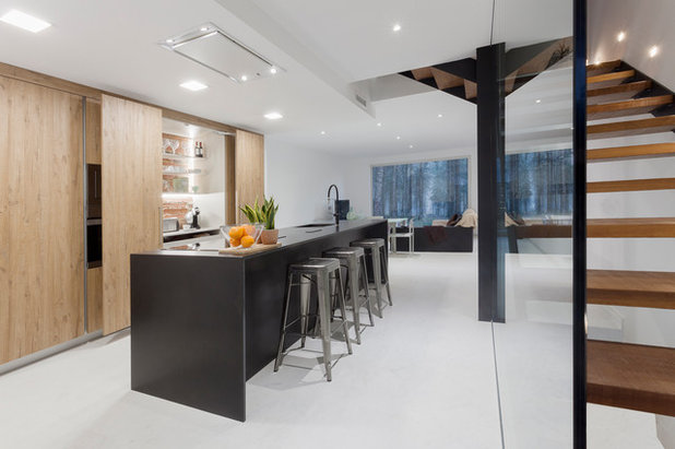 Moderno Cocina by Cuina Fortta