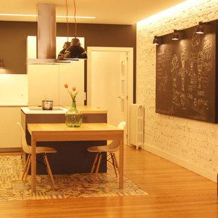 Diseño interior de casa joven vintage