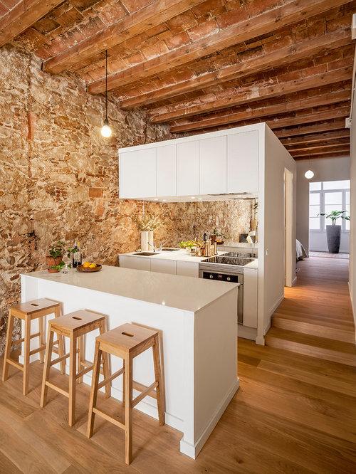 Ideas para cocinas fotos de cocinas abiertas con for Cocinas con espejos