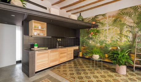 Casas Houzz: Un piso de 45 m² en Barcelona sobrio y funcional