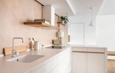El ingenioso diseño de una soleada cocina en Esplugues