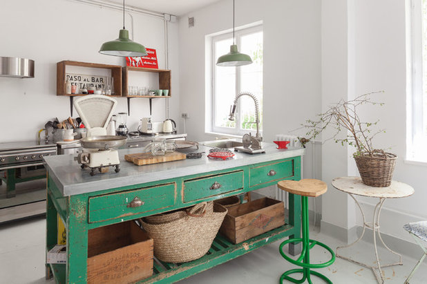 Eclectic Kitchen by Jaime Pulido