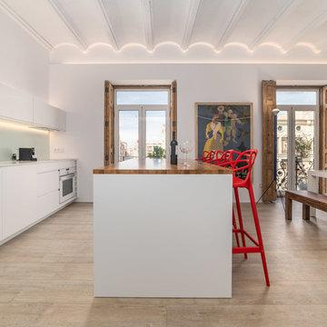 Fotografía de interiores a apartamento turístico de diseño