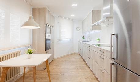 ¿Es buena idea cambiar el frente de los armarios de la cocina?
