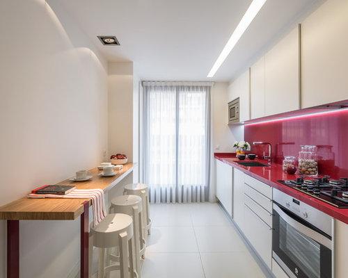 Fotos de cocinas dise os de cocinas modernas for Diseno cocinas paralelo