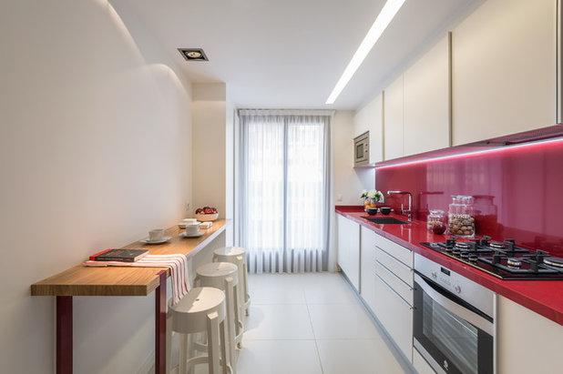 Moderno Cocina by Laura Yerpes Estudio de Interiorismo