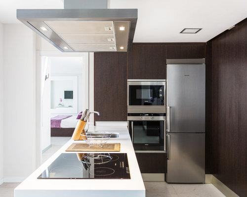 Ideas para cocinas fotos de cocinas peque as for Cocinas completas con electrodomesticos