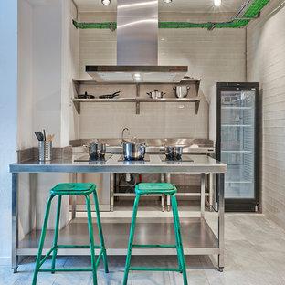 Imagen de cocina urbana extra grande