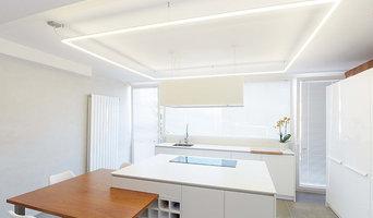 Iluminación cocina - lámpara a medida