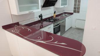 Instalación de encimera de cocina en Caudete (Albacete)