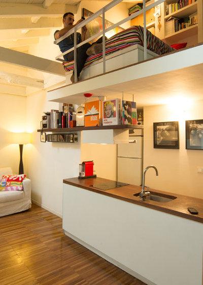 C mo hacer un altillo en una habitaci n aprovecha el espacio for Como disenar mi cocina por internet