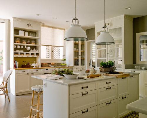 Ideas para cocinas fotos de cocinas de estilo de casa de for Cocinas campestres