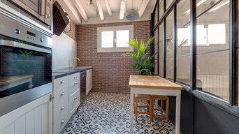Mobiliario en madera para cocina